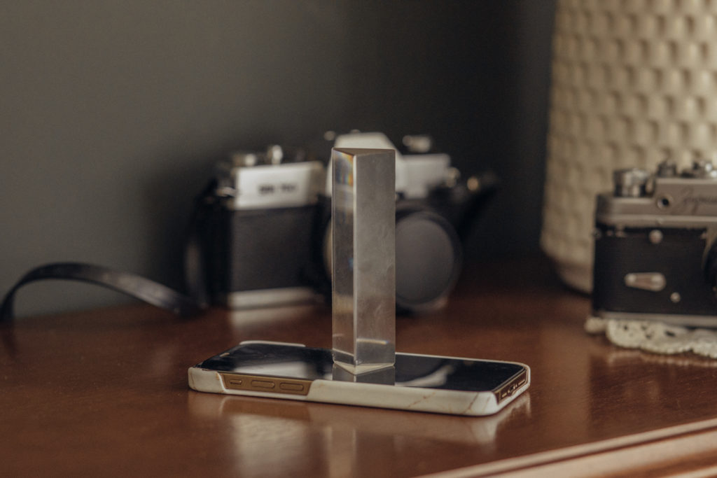 Hilfsmittel-Prisma-Smartphone-Fotografie
